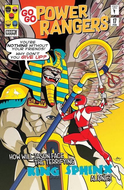 Boom Studios Go Go Power Rangers #17 Beyond The Grid Comic Book [Mok Variant Cover]