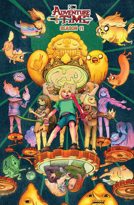 KaBOOM! Adventure Time #5 Season 11 Comic Book [Benbassat Variant Cover]