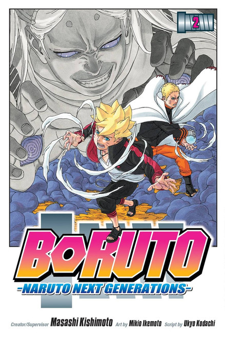 Viz Media Boruto: Naturo Next Generation Volume 2 Manga Trade Paperback