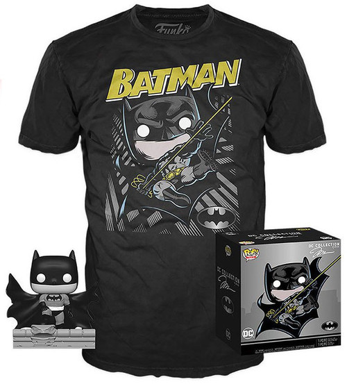 Funko DC Collection by Jim Lee POP! Heroes Batman Exclusive Vinyl Figure & T-Shirt [Hush, Medium]