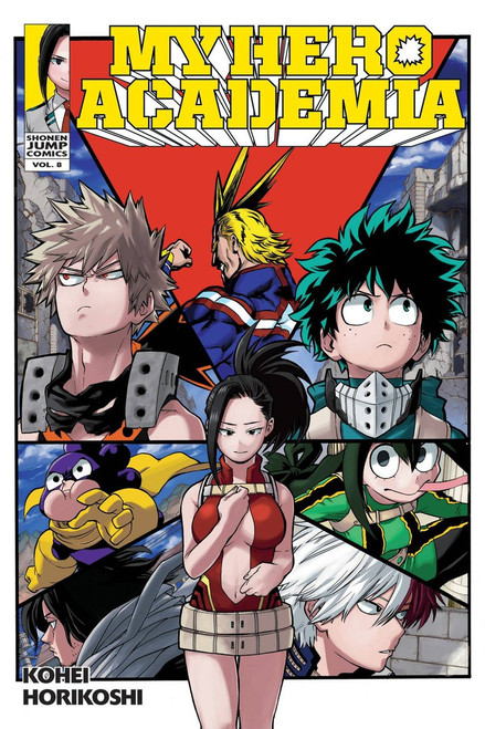 My Hero Academia Volume 8 Manga Trade Paperback