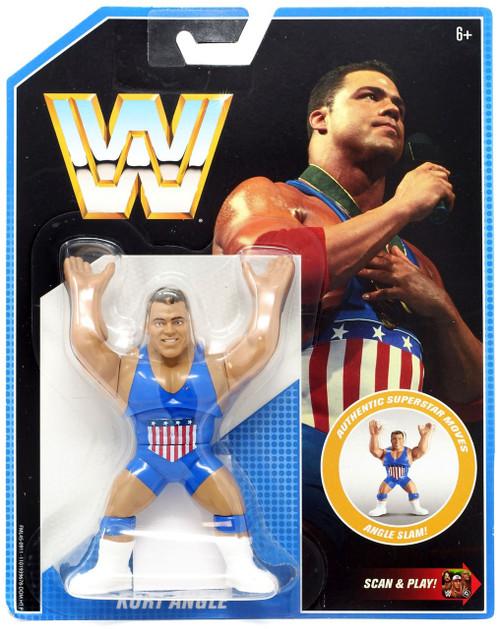 WWE Wrestling Retro Kurt Angle Action Figure