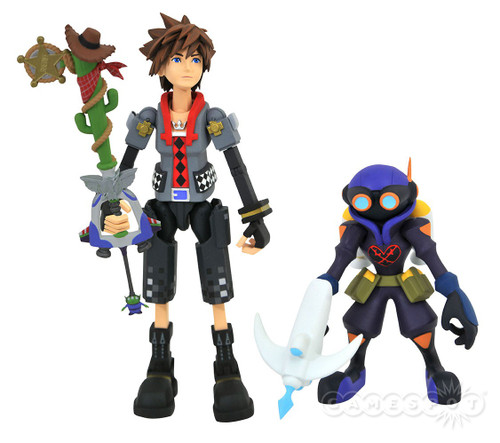 Disney Kingdom Hearts Series 4 Toy Story Sora & Air Soldier Action Figure 2-Pack