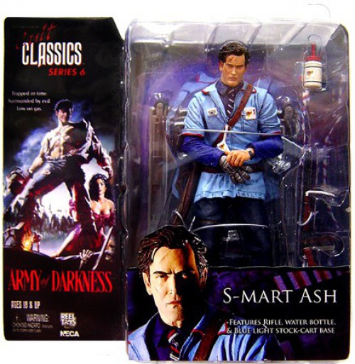 NECA Army of Darkness Cult Classics Icons Series 6 S-Mart Ash Action Figure