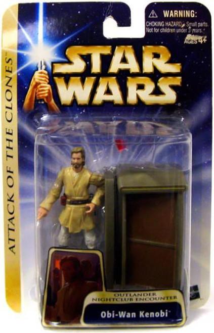 Star Wars Attack of the Clones Obi-Wan Kenobi Action Figure #39 [Outlander Nightclub Encounter]