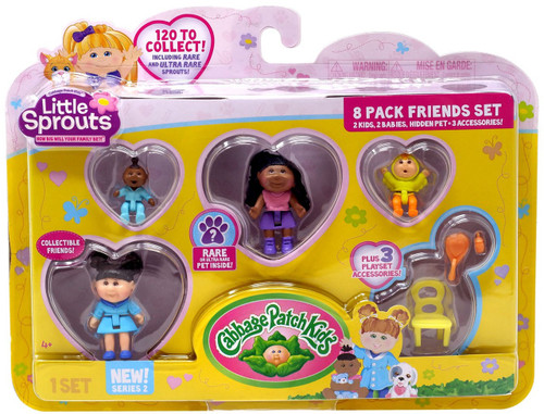 Cabbage Patch Kids Little Sprouts Series 2 Hayden Estelle Mini Figure 8-Pack