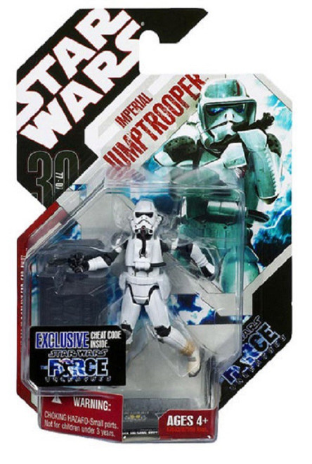 Star Wars Force Unleashed 30th Anniversary 2008 Wave 2 Imperial Jump Trooper Action Figure #10