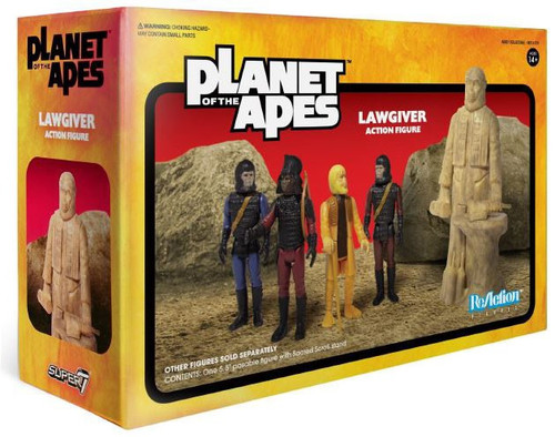 ReAction Planet of the Apes Series 2 Lawgiver Statue Action Figure Accessory