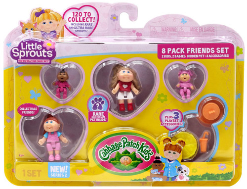 Cabbage Patch Kids Little Sprouts Series 2 Madison Claire Mini Figure 8-Pack