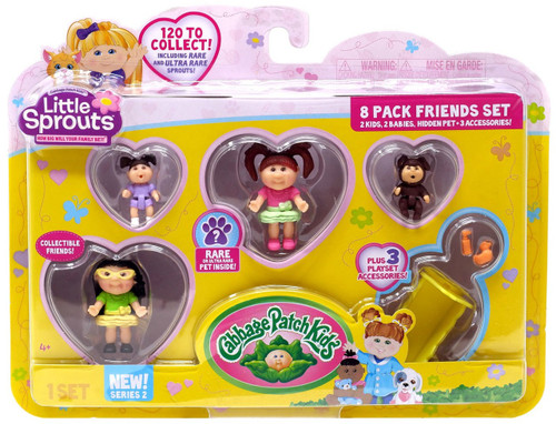 Cabbage Patch Kids Little Sprouts Series 2 Penelope Scarlett Mini Figure 8-Pack