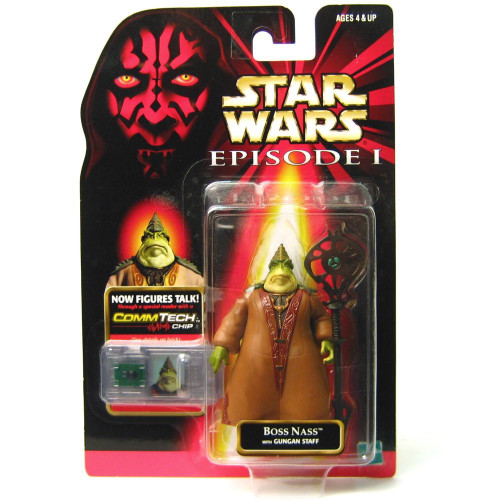 Star Wars Phantom Menace 1999 Episode I Basic Boss Nass Action Figure