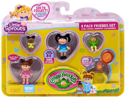 Cabbage Patch Kids Little Sprouts Series 2 Carli Lane Mini Figure 8-Pack