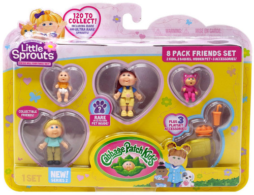 Cabbage Patch Kids Little Sprouts Series 2 Avery Renee Mini Figure 8-Pack
