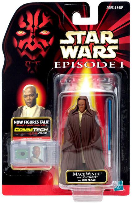 Star Wars Phantom Menace 1999 Episode I Basic Mace Windu Action Figure