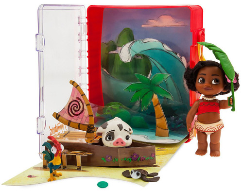 Disney Animators' Collection Moana Exclusive Mini Doll Playset [2019]