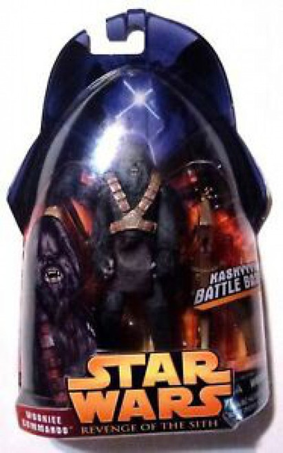 Star Wars Revenge of the Sith 2005 Wookiee Commando Action Figure #58