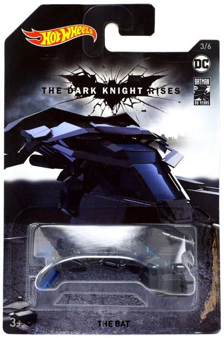 Hot Wheels DC The Dark Knight Rises The Bat Diecast Car #3/6 [3/6]
