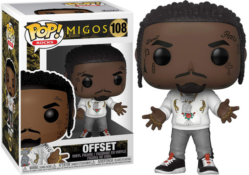 Funko MIGOS POP! Rocks Offset Vinyl Figure