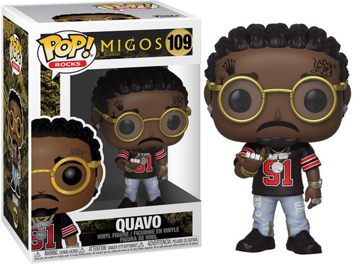 Funko MIGOS POP! Rocks Quavo Vinyl Figure #109