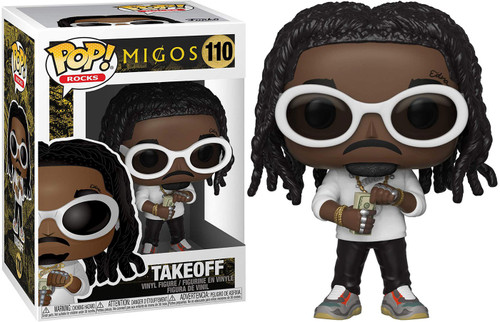 Funko MIGOS POP! Rocks Takeoff Vinyl Figure