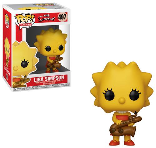 Funko The Simpsons POP! TV Lisa Simpson Vinyl Figure #497 [Saxaphone]