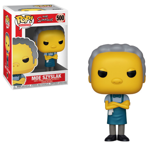 Funko The Simpsons POP! TV Moe Vinyl Figure
