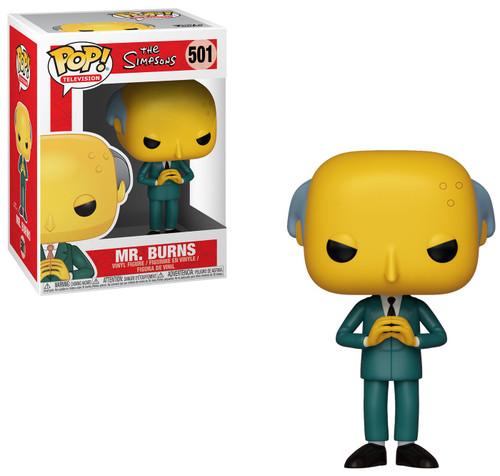 Funko The Simpsons POP! TV Mr. Burns Vinyl Figure #501