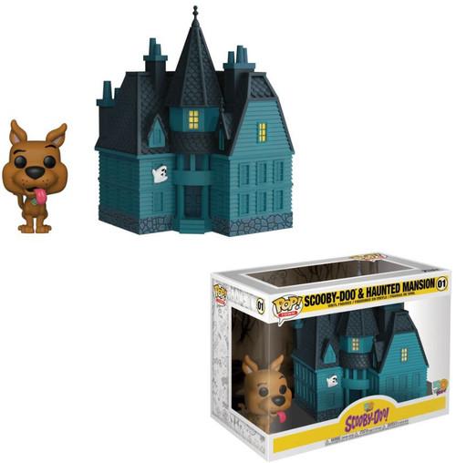 Funko Scooby Doo POP! Town Haunted Mansion Vinyl Figure Set #01