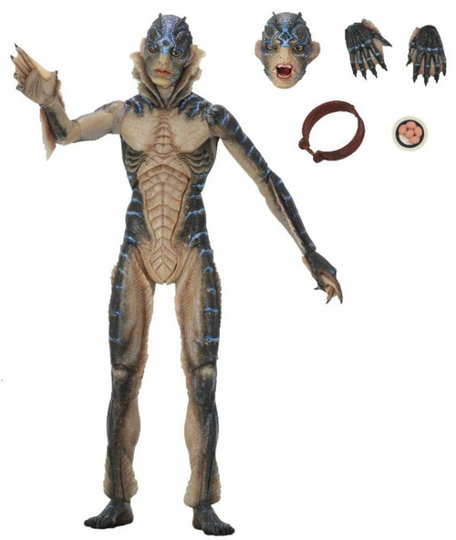NECA Shape of Water Amphibian Man Action Figure [Guillermo del Toro Signature Collection]