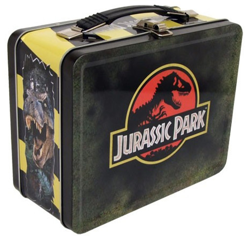 Jurassic Park 8.5-Inch Tin Tote Lunch Box