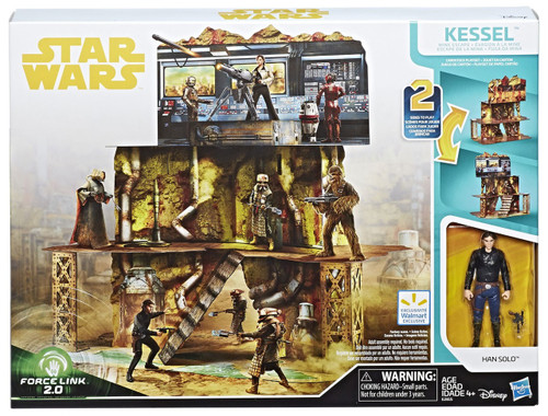 Star Wars Solo Force Link 2.0 Kessel Mine Escape Exclusive 3.75'' Playset [Han Solo Action Figure!]