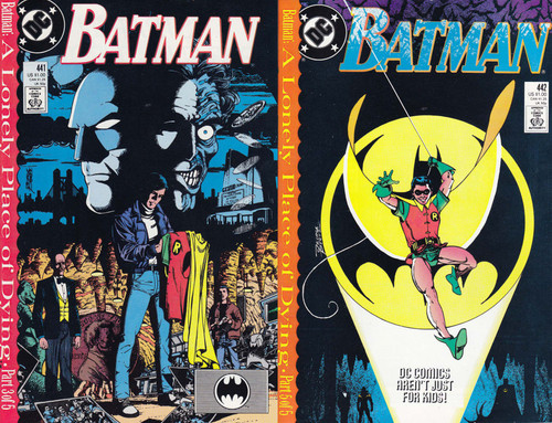 DC Vol. 1 Batman #441 & 442 Comic Book [1st Appearance of Tim Drake in Robin Costume]