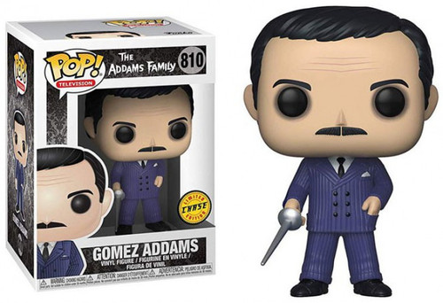 Funko The Addams Family POP! TV Gomez Addams Vinyl Figure #810 [Sparring Sword, Chase Version]