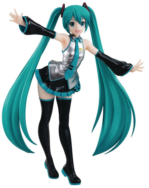 Vocaloid Pop Up Parade! Hatsune Miku 7.5-Inch Collectible PVC Figure [Standard Outfit]