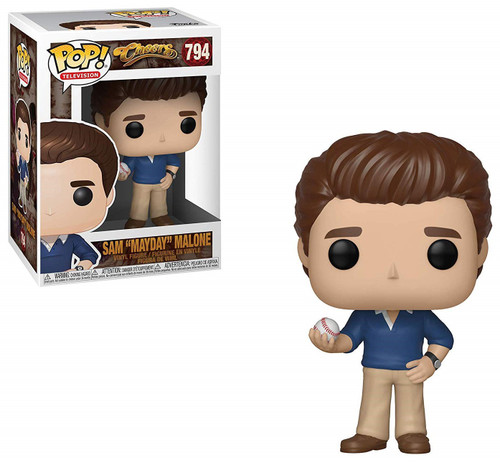 "Funko Cheers POP! TV Sam ""Mayday"" Malone Vinyl Figure #794"