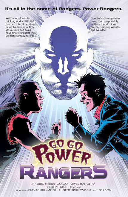 Boom Studios Go Go Power Rangers #17 Beyond The Grid Comic Book [Melnikov Variant Cover]