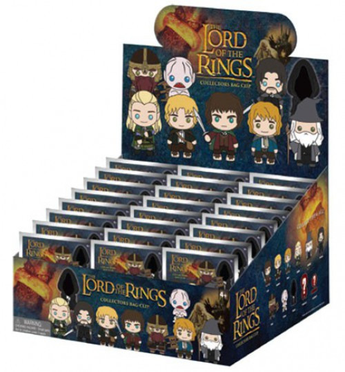 3D Figural Bag Clip 3D Figural Foam Bag Clip The Lord of the Rings Mystery Box [24 Packs]