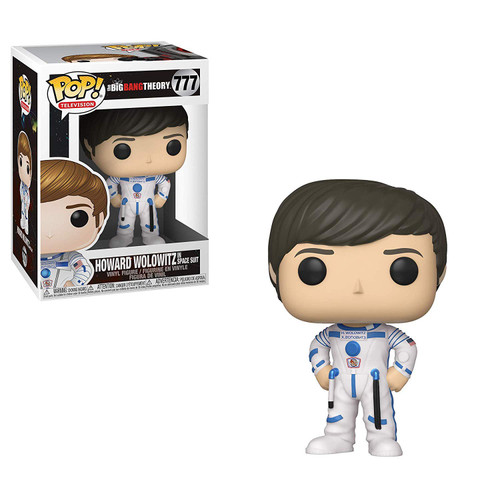 Funko The Big Bang Theory POP! TV Howard Wolowitz Vinyl Figure #777 [In Space Suit]
