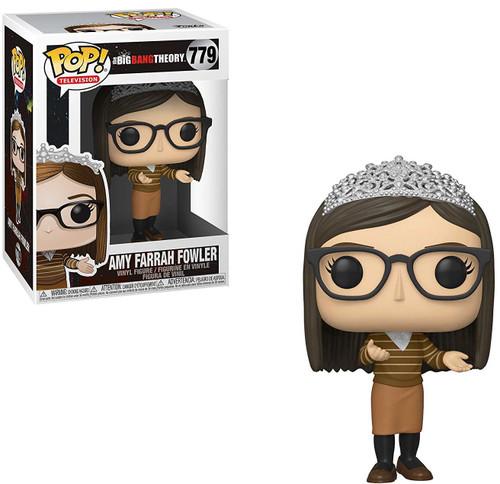Funko The Big Bang Theory POP! TV Amy Farrah Fowler Vinyl Figure #779 [Brown Sweater]