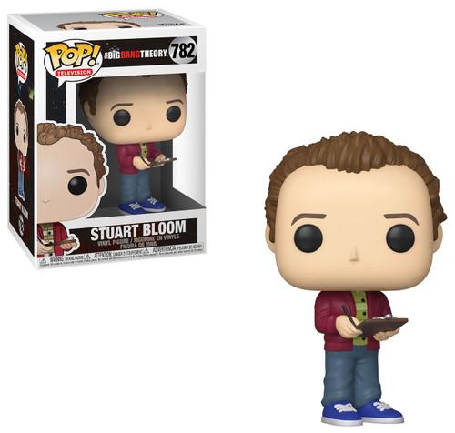 Funko The Big Bang Theory POP! TV Stuart Bloom Vinyl Figure #782