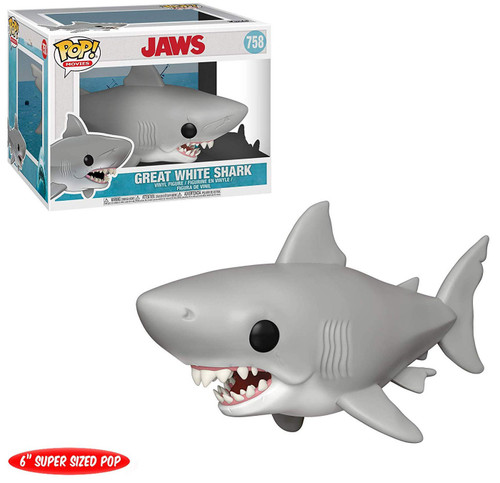 Funko Jaws POP! Movies Great White Shark 6-Inch Vinyl Figure #758 [Jaws]