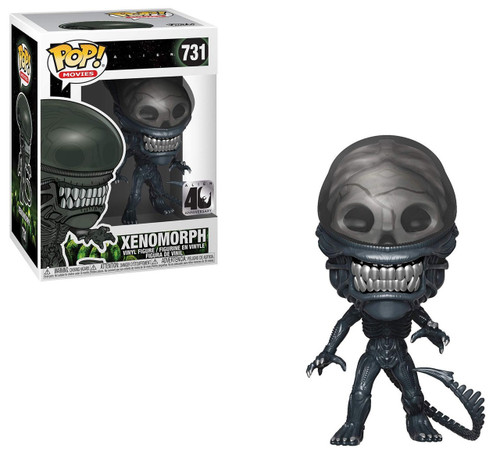 Funko Alien 40th Anniversary POP! Movies Xenomorph Vinyl Figure #731