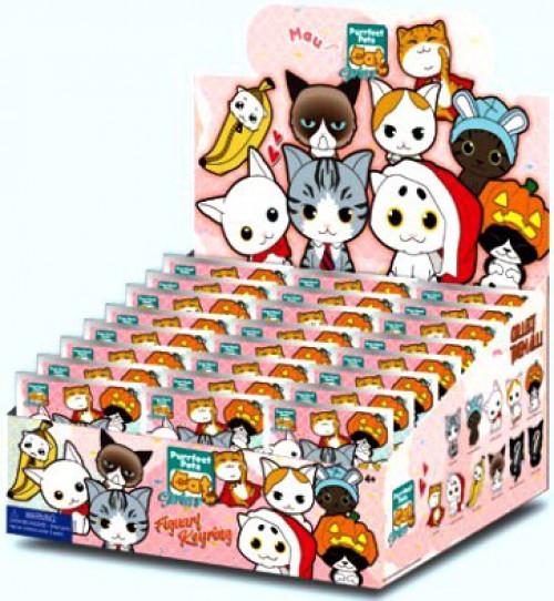 3D Figural Foam Bag Clip Purrfect Pets Cat Series 2 Mystery Box [24 Packs]