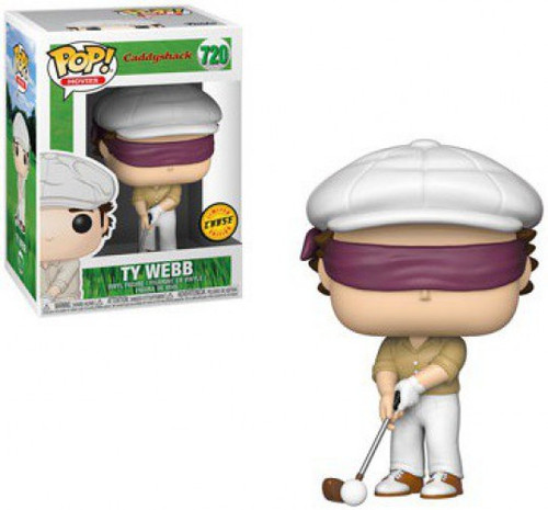Funko Caddyshack POP! Movies Ty Webb Vinyl Figure #720 [Chase Version, With Blind Fold]