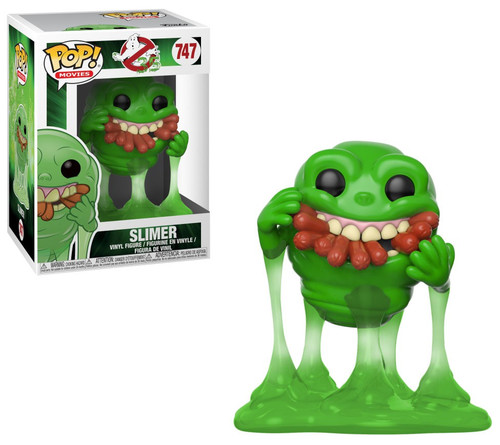 Funko Ghostbusters POP! Movies Slimer with Hot Dogs Vinyl Figure #747