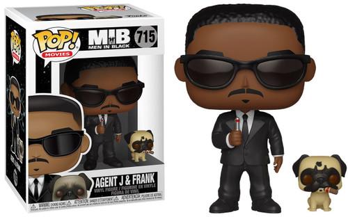 Funko Men In Black POP! Movies Agent J & Frank Vinyl Figure & Buddy #715