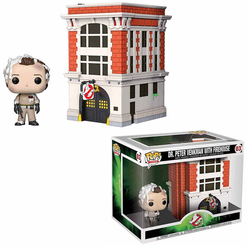 Funko Ghostbusters POP! Movies Peter with House Vinyl Figure