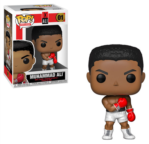 Funko Boxing POP! Legends Muhammad Ali Vinyl Figure #01