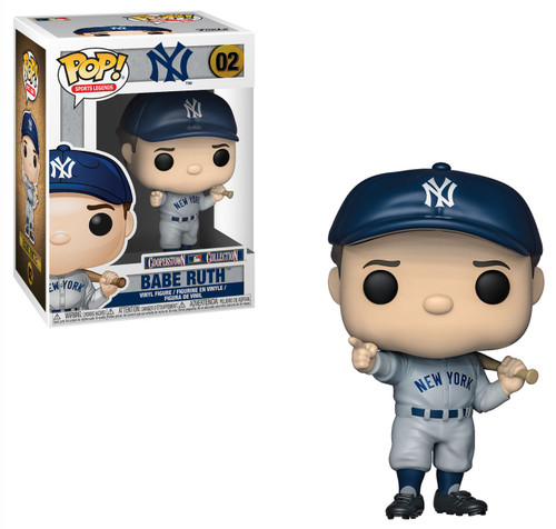 Funko MLB New York Yankees POP! Legends Babe Ruth Vinyl Figure #02 [Full Color]