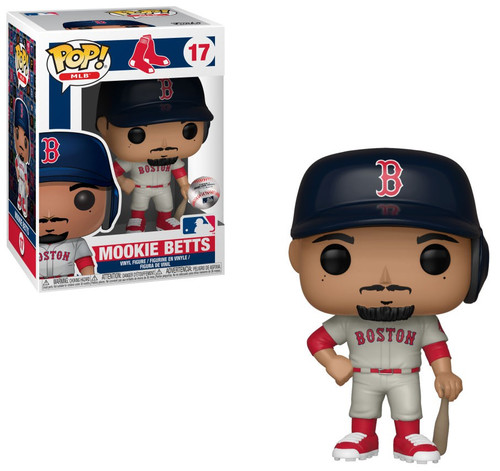 Funko MLB Boston Red Sox POP! Sports Baseball Mookie Betts Vinyl Figure [Road]